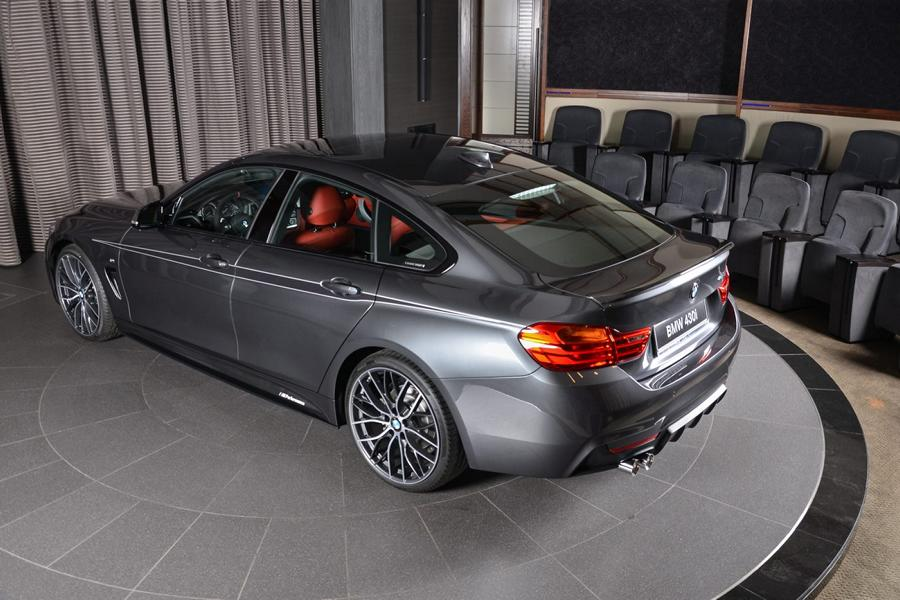BMW 430i Gran Coupe M Performance Parts Tuning 2017 5 Schickes BMW 430i Gran Coupe mit M Performance Parts