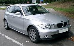 BMW E87 1er Vossen Wheels VFS 2 Alu's am knallroten BMW 1er F20