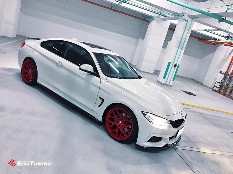 BMW F32 Coupe FF01 Tuning Carbon Bodykit 1 Elegantes BMW F32 Coupe auf FF01 Alu's by EDO Tuning