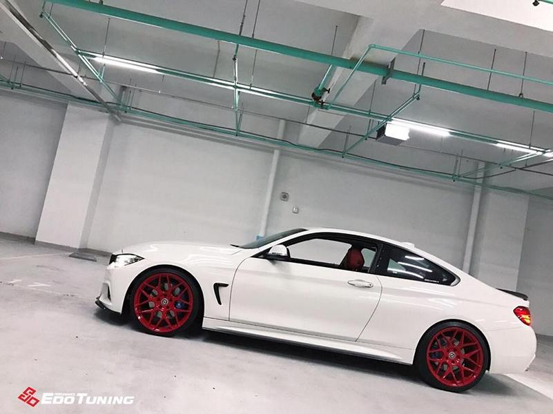 BMW F32 Coupe FF01 Tuning Carbon Bodykit 13 Elegantes BMW F32 Coupe auf FF01 Alu's by EDO Tuning