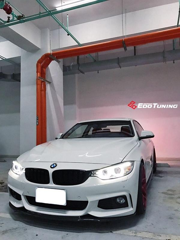 BMW F32 Coupe FF01 Tuning Carbon Bodykit 15 Elegantes BMW F32 Coupe auf FF01 Alu's by EDO Tuning