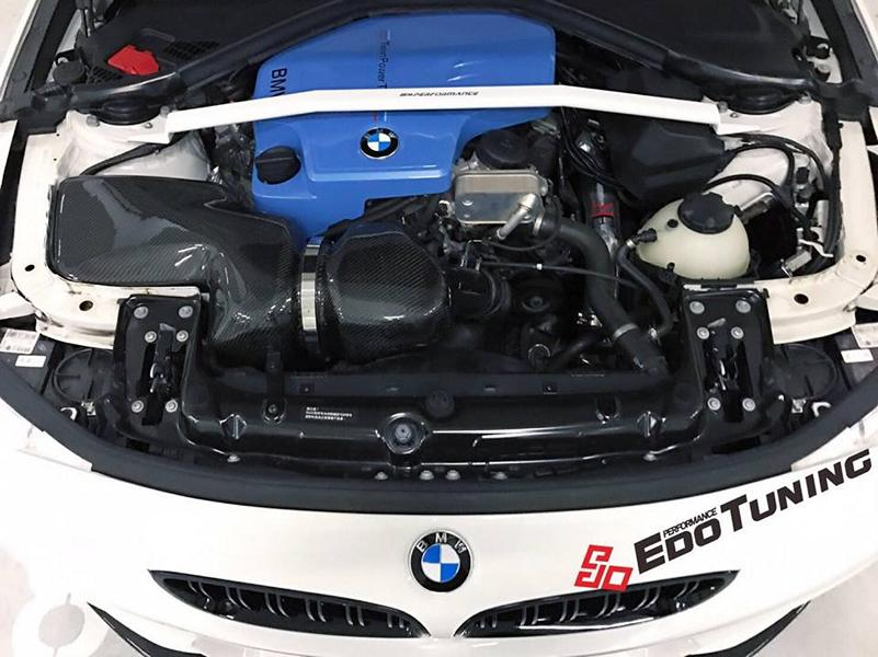 BMW F32 Coupe FF01 Tuning Carbon Bodykit 22 Elegantes BMW F32 Coupe auf FF01 Alu's by EDO Tuning