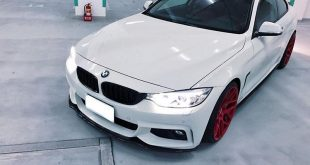 BMW F32 Coupe FF01 Tuning Carbon Bodykit 7 310x165 Elegantes BMW F32 Coupe auf FF01 Alu's by EDO Tuning