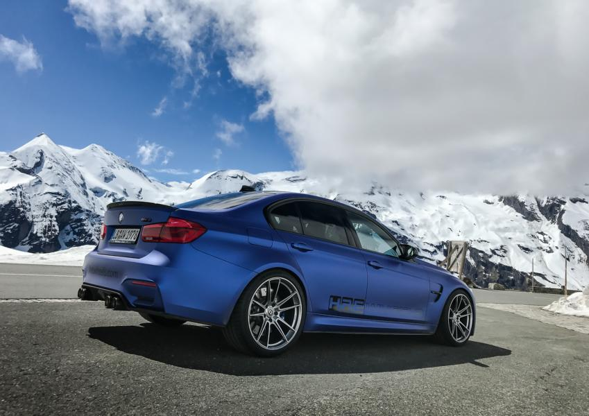 BMW F80 M3 Competition HRE FF04 Tuning 1 BMW F80 M3 Competition auf schicken HRE FF04 Felgen
