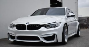 BMW F80 M3 Work Brombachers Tuning 21 310x165 Volk TE37SL Alu's & Carbon Bodykit am EAS BMW E92 M3
