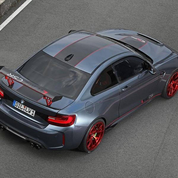 BMW M2 CSR Tuning 2017 Lightweight Performance M4 GTS 2 BMW M2 CSR mit 621PS vom Tuner Lightweight Performance