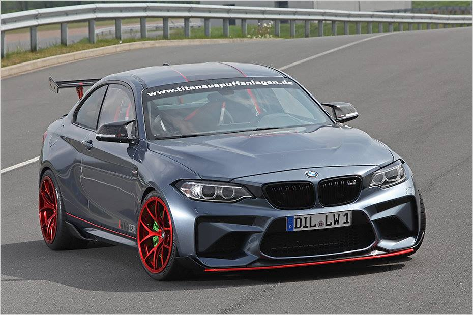 BMW M2 CSR Tuning 2017 Lightweight Performance M4 GTS 20 BMW M2 CSR mit 621PS vom Tuner Lightweight Performance