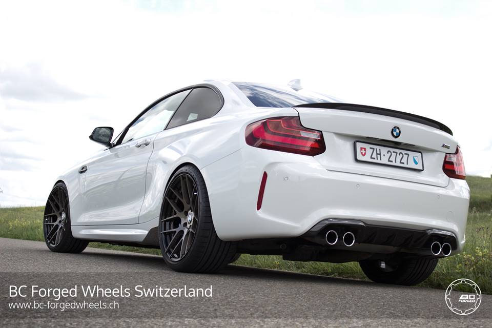 BMW M2 F87 Coupe HC040S BC Forged Wheels Tuning 2 BMW M2 F87 Coupe auf HC040S BC Forged Wheels Felgen