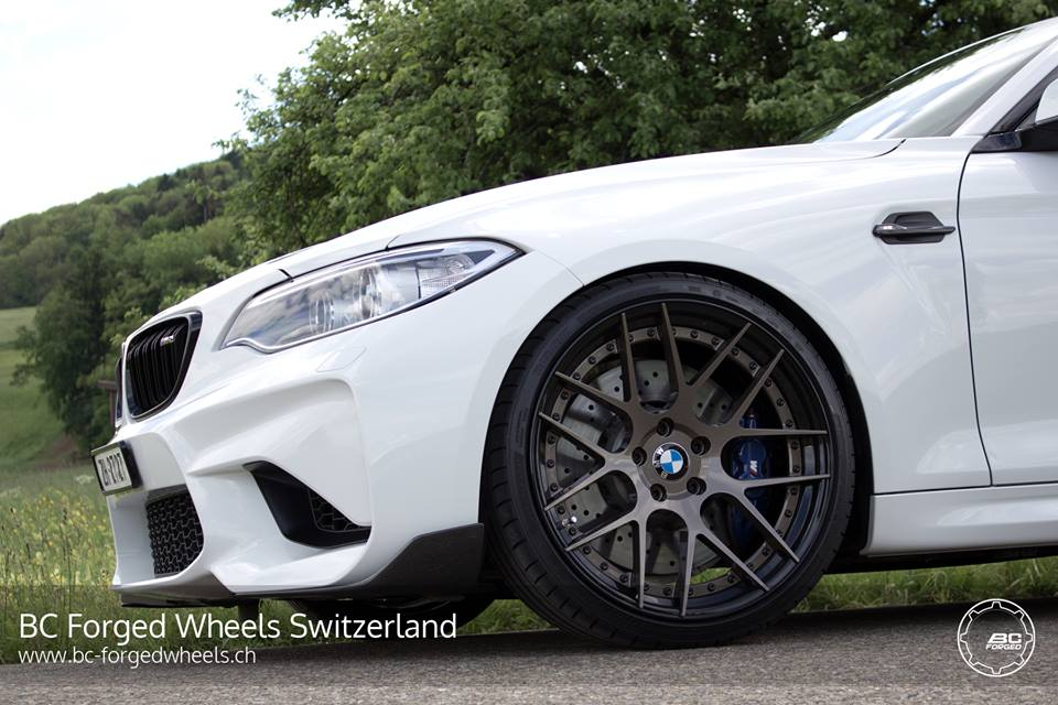 BMW M2 F87 Coupe HC040S BC Forged Wheels Tuning 3 BMW M2 F87 Coupe auf HC040S BC Forged Wheels Felgen