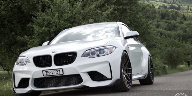 BMW M2 F87 Coupe auf HC040S BC Forged Wheels Felgen