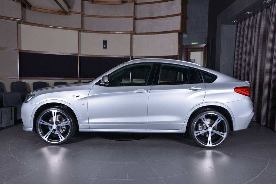 bmw x4 m40i f26 mit m performance hamann parts. Black Bedroom Furniture Sets. Home Design Ideas