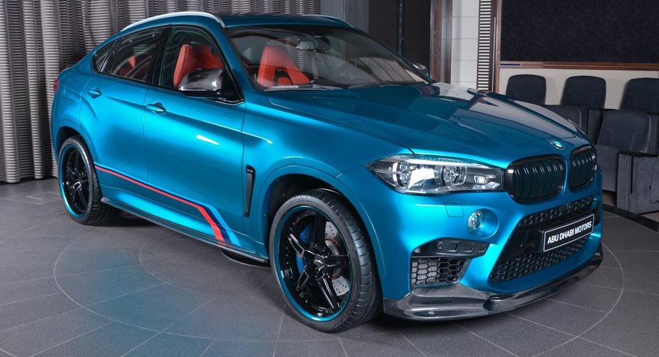 Could Not Be Better Bmw X6m F86 Of Abu Dhabi Motors Tuningblog Eu Magazine