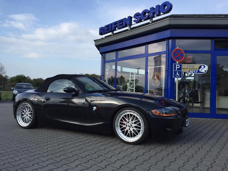 bmw z4 e85 kw fahrwerk 19 zoll bbs lm felgen 1. Black Bedroom Furniture Sets. Home Design Ideas