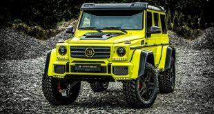 Carlex Design Brabus Mercedes Benz G500 4x4 Tuning 2 310x165 Monster   Carlex Design Brabus Mercedes Benz G500 4x4