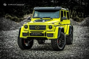 Carlex Design Brabus Mercedes Benz G500 4x4 Tuning 2 310x205 Monster   Carlex Design Brabus Mercedes Benz G500 4x4