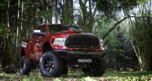 Dodge RAM 1500 XXL SuperSize WideBody TTS 2017 Power Parts Tuning 9 310x165 Eagle Motor Parts Dodge Ram auf 20 Zoll Rockstar Felgen