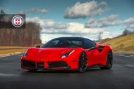 Ferrari 488 GTB HRE Performance Wheels P200 Tuning 10 190x127 Knallroter Ferrari 488 GTB auf HRE Performance Wheels P200