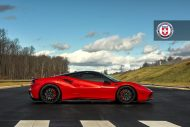 Ferrari 488 GTB HRE Performance Wheels P200 Tuning 2 190x127 Knallroter Ferrari 488 GTB auf HRE Performance Wheels P200