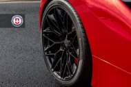 Ferrari 488 GTB HRE Performance Wheels P200 Tuning 4 190x127 Knallroter Ferrari 488 GTB auf HRE Performance Wheels P200