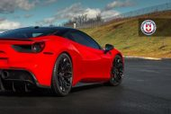 Ferrari 488 GTB HRE Performance Wheels P200 Tuning 6 190x127 Knallroter Ferrari 488 GTB auf HRE Performance Wheels P200
