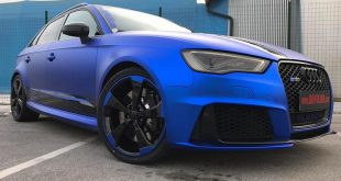Folierung Chrom Blau Audi RS3 550 Tuning 10 310x165 Nissan GT R Vollfolierung in EXAKT VODKA Design by BB