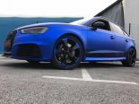 Folierung Chrom Blau Audi RS3 550 Tuning 11 155x116 Folierung in Chrom Blau am Audi RS3 550 by BB Folien