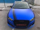 Folierung Chrom Blau Audi RS3 550 Tuning 14 155x116 Folierung in Chrom Blau am Audi RS3 550 by BB Folien