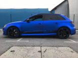 Folierung Chrom Blau Audi RS3 550 Tuning 15 155x116 Folierung in Chrom Blau am Audi RS3 550 by BB Folien