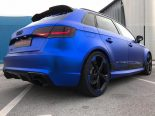 Folierung Chrom Blau Audi RS3 550 Tuning 19 155x116 Folierung in Chrom Blau am Audi RS3 550 by BB Folien