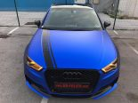 Folierung Chrom Blau Audi RS3 550 Tuning 23 155x116 Folierung in Chrom Blau am Audi RS3 550 by BB Folien