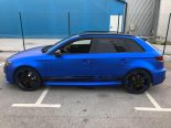 Folierung Chrom Blau Audi RS3 550 Tuning 26 155x116 Folierung in Chrom Blau am Audi RS3 550 by BB Folien