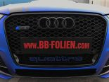 Folierung Chrom Blau Audi RS3 550 Tuning 7 155x116 Folierung in Chrom Blau am Audi RS3 550 by BB Folien