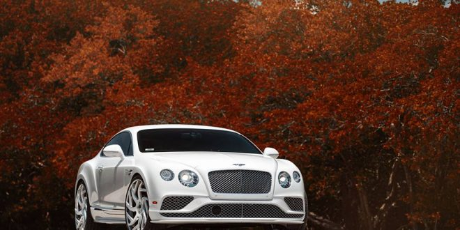 Gewagt – Forgiato Girare-ECL Alu's am Bentley Continental GT