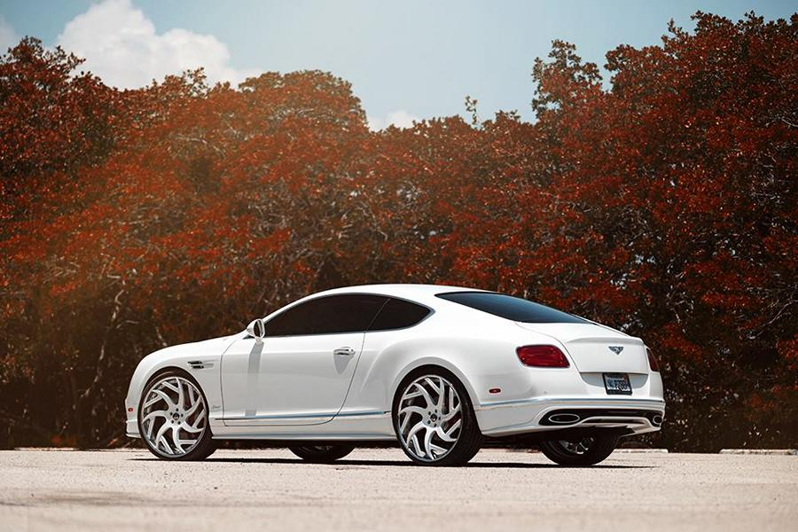 Forgiato Girare ECL Bentley Continental GT Speed Tuning 5 Gewagt   Forgiato Girare ECL Alu's am Bentley Continental GT