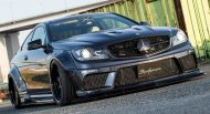 Liberty Walk Widebody Mercedes C63 AMG W204 3DSM Tuning 2 190x103 Liberty Walk Widebody Mercedes C63 AMG auf 3DSM Alu's