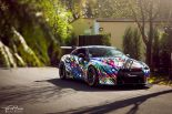 Liberty Widebody Nissan GT R HRE S104 Tuning HRE 11 155x103 Unübersehbar   Spaciger Widebody Nissan GT R auf HRE Alu's