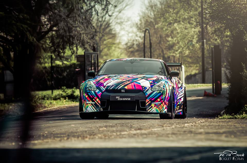 Liberty Widebody Nissan GT R HRE S104 Tuning HRE 12 Unübersehbar   Spaciger Widebody Nissan GT R auf HRE Alu's
