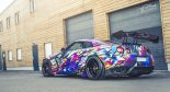 Liberty Widebody Nissan GT R HRE S104 Tuning HRE 2 155x84 Unübersehbar   Spaciger Widebody Nissan GT R auf HRE Alu's