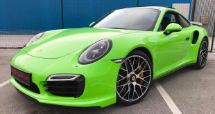 Light Neon Gr%C3%BCn 911 Porsche 991 Turbo S Folierung Tuning 16 310x165 The Dark Knight Returns   Porsche 911 jetzt auf Vossen Wheels
