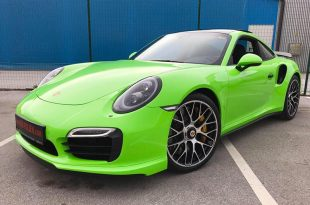 Light Neon Grün 911 Porsche 991 Turbo S Folierung Tuning 16 310x205 Light Neon Grün am Porsche 991 Turbo S by BB Folien