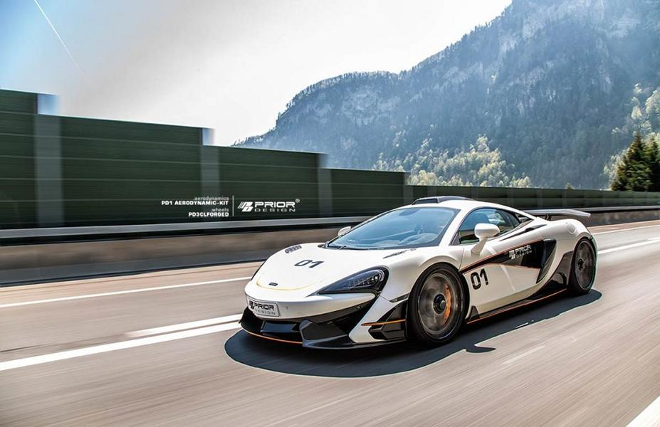 McLaren 570S Prior Design PD1 Bodykit PD3 Felgen Tuning (10)