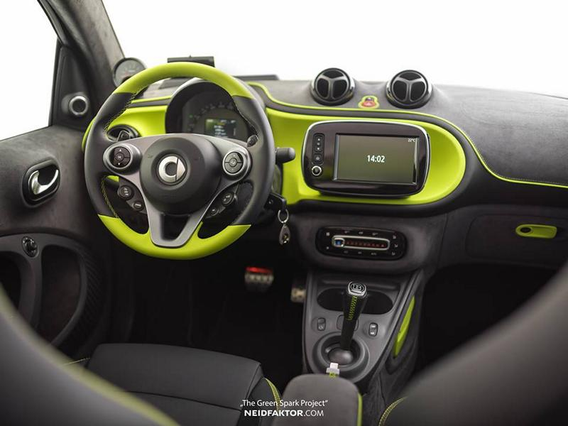 "Neidfaktor Brabus Smart The Green Spark Project Tuning 1 Neidfaktor GmbH Brabus Smart ""The Green Spark Project"""