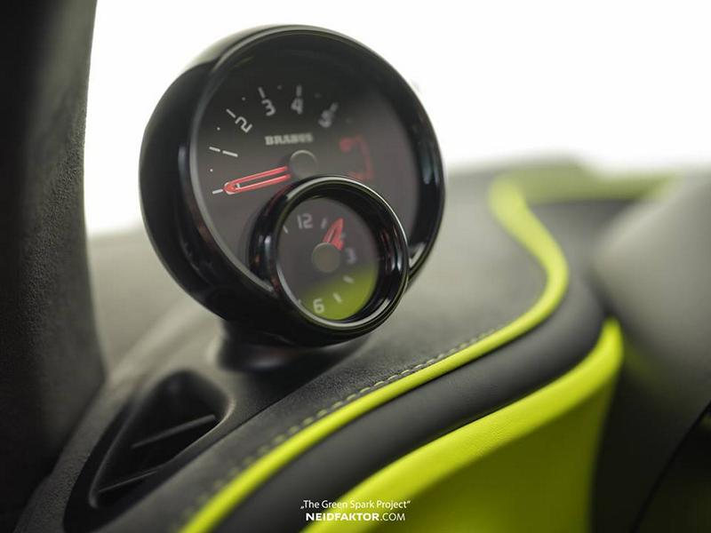 "Neidfaktor Brabus Smart The Green Spark Project Tuning 7 Neidfaktor GmbH Brabus Smart ""The Green Spark Project"""