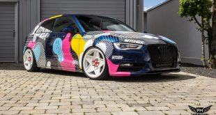 POP ART SHAPES Folierung AUDI A3 Tuning 3 310x165 POP ART SHAPES Folierung am AUDI A3 von SchwabenFolia