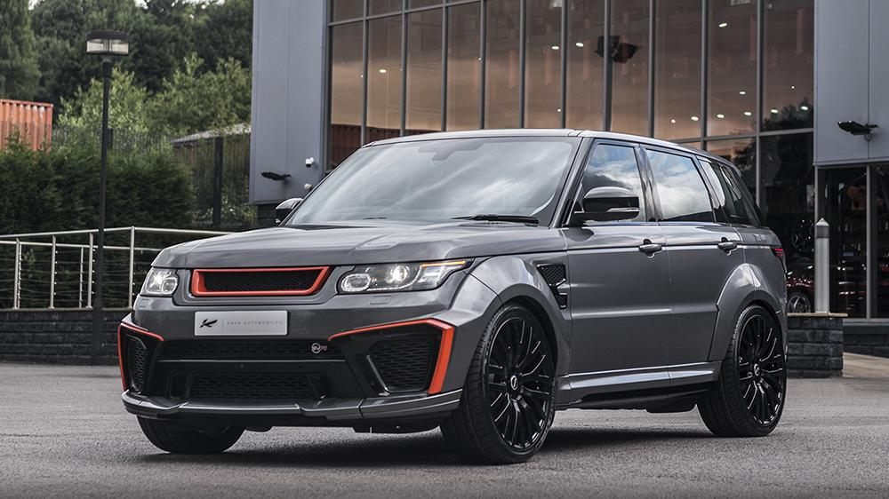 Range Rover Sport 5.0 V8 SVR Pace Car Tuning Kahn Design 2 car modified? When is the change acceptance required?