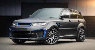 Range Rover Sport 5.0 V8 SVR Pace Car by Kahn 2017 1 310x165 Luftiges Monster   Kahn Design Flying Huntsman 6x6 Soft Top