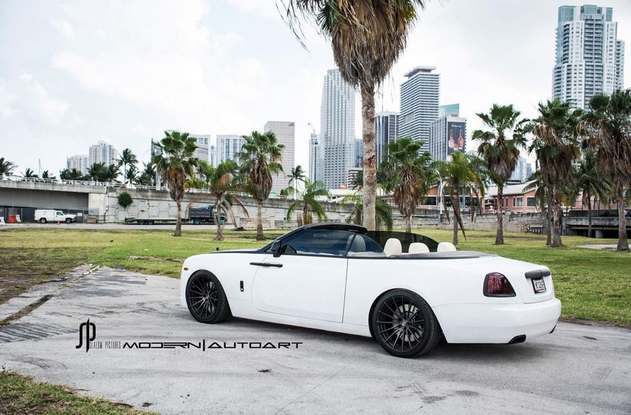 Rolls Royce Dawn ADV.1 Wheels ADV15 Tuning 4 Edel   Rolls Royce Dawn vom Tuner Auto Art auf ADV.1 Wheels