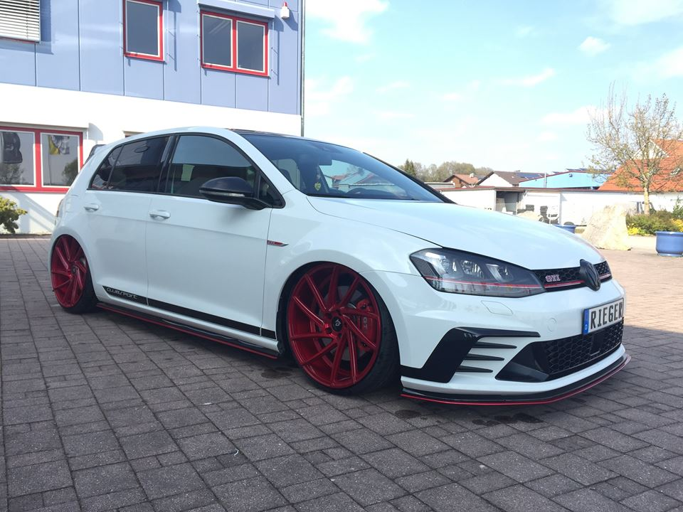 VW Golf 7 GTI ClubSport 20 Zöller mbDesign Rieger Parts 3 VW Golf 7 GTI ClubSport mit 20 Zöller & Rieger Parts