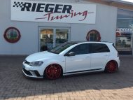 VW Golf 7 GTI ClubSport 20 Z%C3%B6ller mbDesign Rieger Parts 4 190x143 VW Golf 7 GTI ClubSport mit 20 Zöller & Rieger Parts