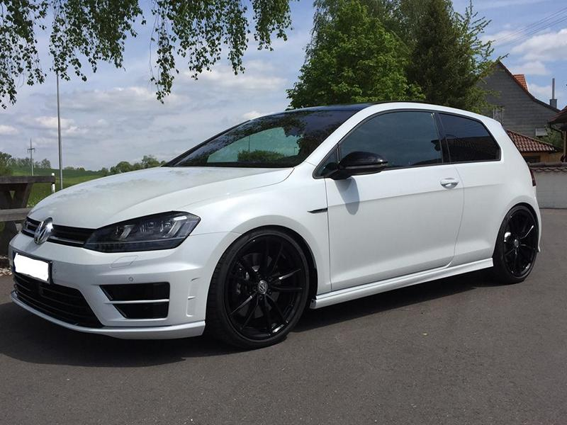 decent vw golf 7r with kw suspension more power by tvw magazine. Black Bedroom Furniture Sets. Home Design Ideas